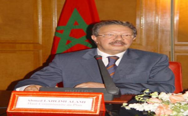 Allocution de Monsieur Ahmed LAHLIMI ALAMI,<br>Haut-Commissaire au Plan